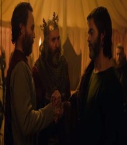 Robert the Bruce pledges loyalty to king Edward i of England outlaw King Netflix