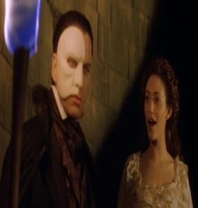 Christine daae and the Phantom The Phantom of the Opera