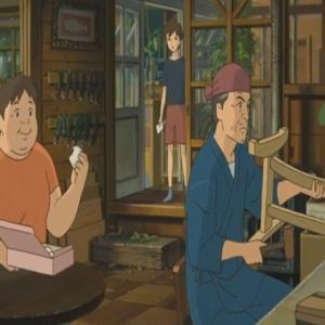 Anna Sasaki and her caretakers When Marnie Was There studio Ghibli