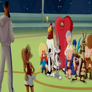 Lola bunny and the tune squad basketball Space jam a new legacy