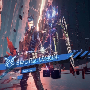Getting your sword legion back Astral Chain Nintendo Switch
