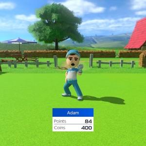 Male mii Mario Golf: Super Rush Nintendo Switch