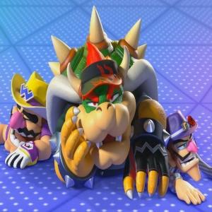 Bowser wario waluigi defeated Mario Golf: Super Rush Nintendo Switch