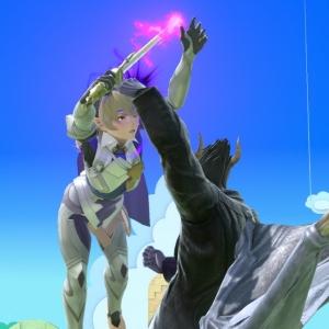 Kazuya grab on corrin super Smash Bros ultimate Nintendo Switch Tekken Namco