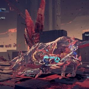 Boss battle Cerberus astral chain Nintendo Switch