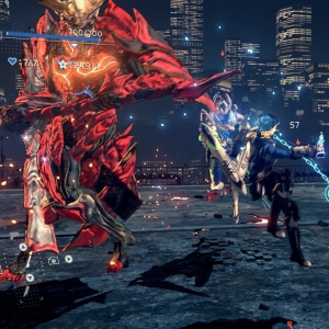 Boss battle Diomedes Astral Chain Nintendo Switch