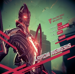 Arrow Nemesis Astral Chain Nintendo Switch