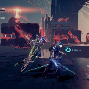 Boss battle Arrow Nemesis Astral Chain Nintendo Switch