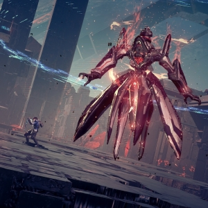 Defeating Arrow Nemesis Astral Chain Nintendo Switch