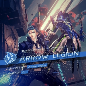 Arrow legion astral chain Nintendo Switch
