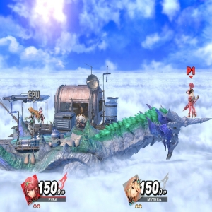 Cloud Sea of Alrest stage super Smash Bros ultimate Nintendo Switch Xenoblade Chronicles 2
