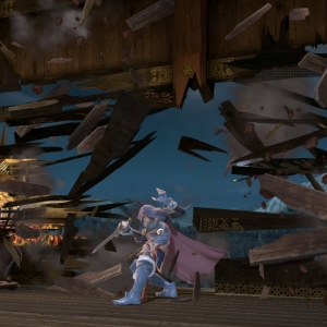 Lucina breaks the wall Mishima Dojo Stage super Smash Bros ultimate Nintendo Switch Tekken