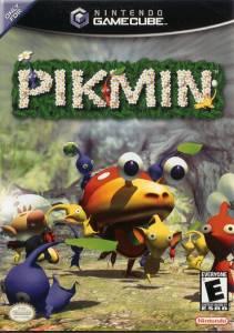 Pikmin Nintendo Gamecube boxart