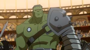 Hulk turned into gladiator warrior Planet Hulk movie