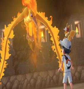 Legendary pokemon moltres Pokemon: Let's Go Eevee/Pikachu Nintendo Switch