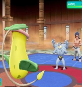 Elite Four Bruno using machamp Pokemon Let's Go Pikachu/Eevee Nintendo Switch