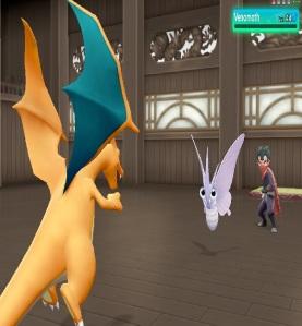 Koga using venomoth Pokemon Let's Go Pikachu/Eevee Nintendo Switch
