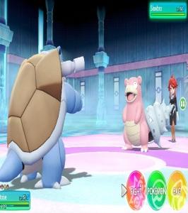 Lorelei slowbro Pokemon Let's Go Pikachu/Eevee Nintendo Switch