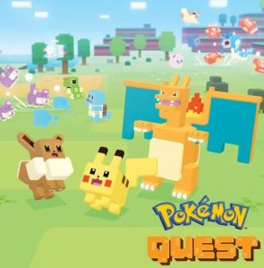 Pokemon Quest Nintendo Switch logo