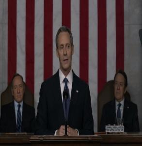 President Garrett walker state of the union house of Cards Netflix