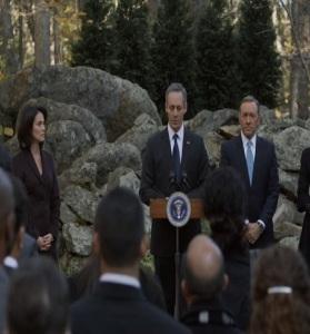 President Garrett walker resigns house of Cards Netflix