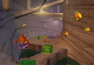 Crash Bandicoot: Wrath of Cortex green nitro boxes PS2