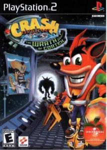 Crash Bandicoot: Wrath of Cortex PS2 Boxart