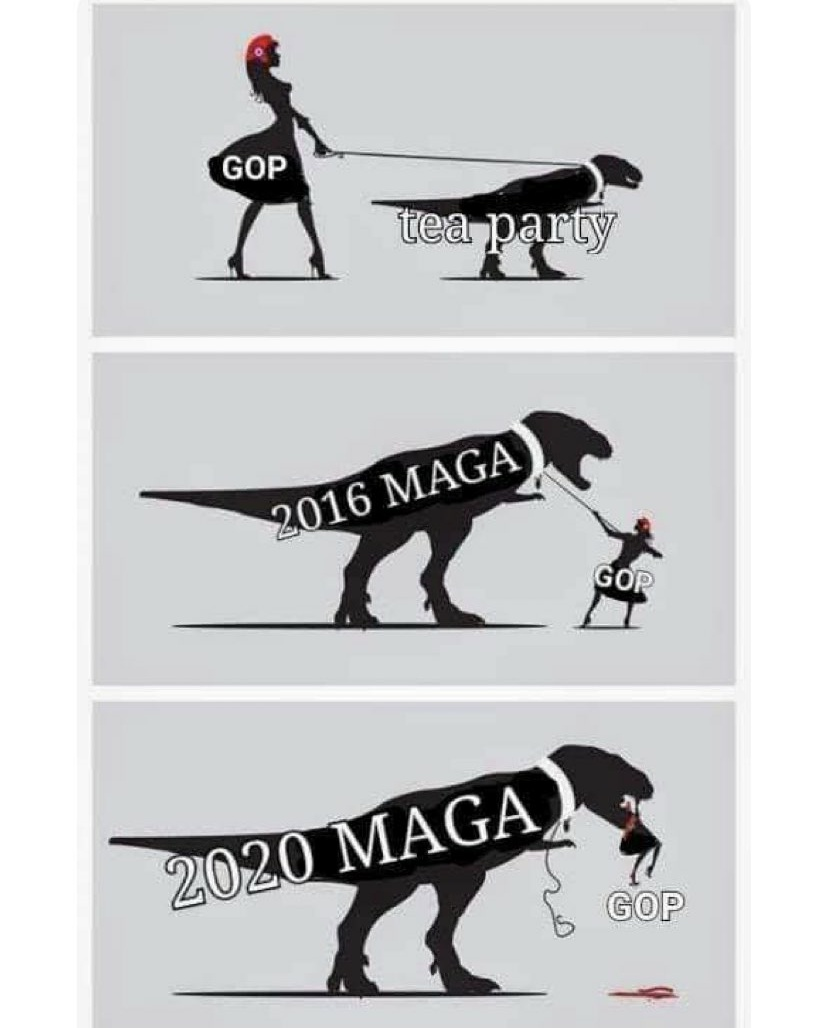 Memes rise of extremists Republican Party