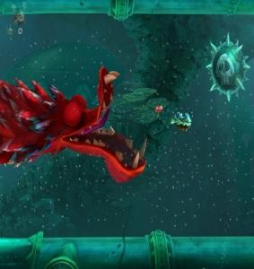 Big red dragon Rayman Legends Definitive Edition Nintendo Switch ubisoft