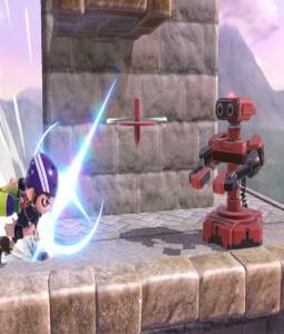 R.O.B. Vs inkling Super Smash Bros ultimate Nintendo Switch