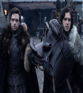 Jon Snow and Robb Stark game of Thrones HBO
