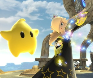 Rosalina and Luma super Smash Bros ultimate Nintendo Switch