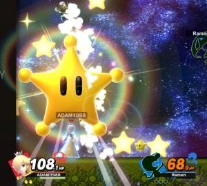 Rosalina and Luma final Smash attack super Smash Bros ultimate Nintendo Switch