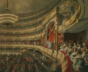 Russian opera theaters Russia empire