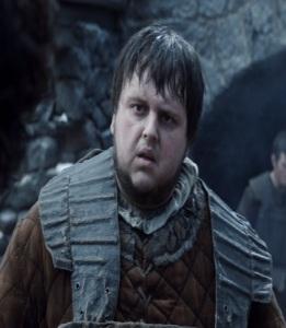 Samwell Tarly game of Thrones