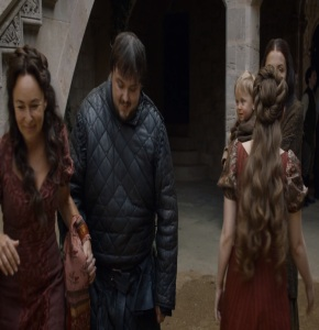 Samwell Tarly and his mother game of Thrones HBO