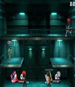 Shadow Moses Island Stage super Smash Bros ultimate Nintendo Switch metal gear solid Konami