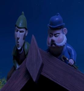 Sherlock and Watson Sherlock Gnomes