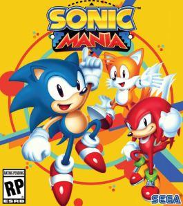 Sonic Mania boxart sega