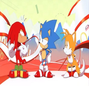 Sonic Tails and Knuckles Sonic Mania PS4 Xbox One Nintendo Switch Sega