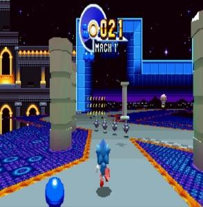 Bonus stage Sonic Mania PS4 Xbox One Nintendo Switch Sega