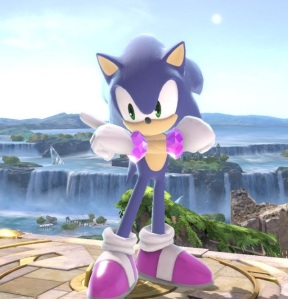 Sonic the Hedgehog super Smash Bros ultimate Nintendo Switch Sega