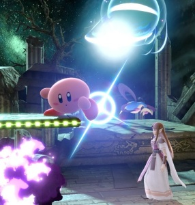 Kirby vs princess Zelda Spear Pillar stage super Smash Bros ultimate Nintendo Switch Pokémon diamond and pearl