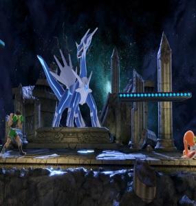 Little Mac vs inkling Spear Pillar stage super Smash Bros ultimate Nintendo Switch Pokémon diamond and pearl