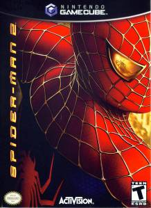 Spider-man 2 video game boxart Nintendo Gamecube Xbox PS2