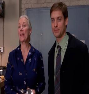 Thanksgiving Peter Parker Aunt May Parker Spider-Man 1