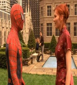 Spider-man meets Mary Jane Watson Spider-Man 1 Tobey Maguire