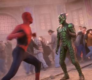 First fight green goblin vs Spider-Man Spider-Man 1 Tobey Maguire