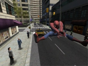 Web slinging new York city Spider-man 2 video game Nintendo Gamecube Xbox PS2