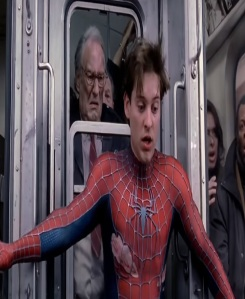 Spider-man 2 stopped subway train